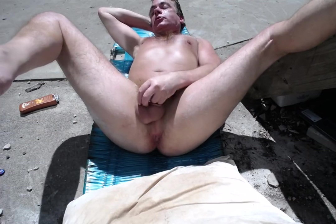 Naked in the Sun Part 2 Public orgasm contest