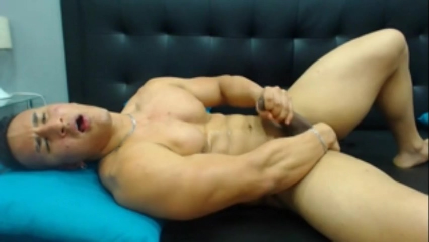 Latin muscle jerk off on cam Amateur free sex wife