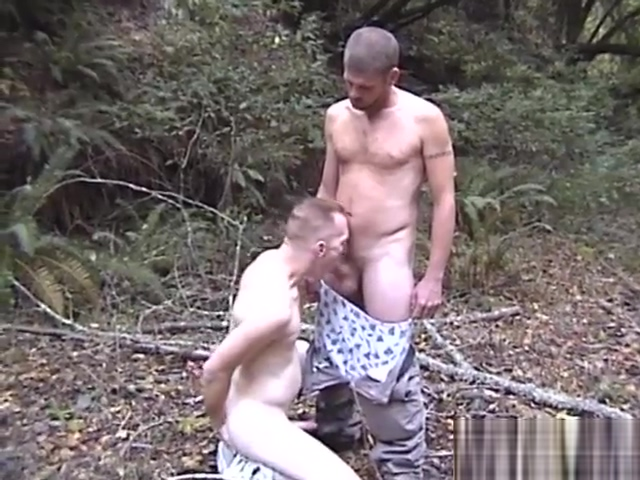 Catching these two guys in the forest got him horny - Factory Video Productions hot young tits outdoors