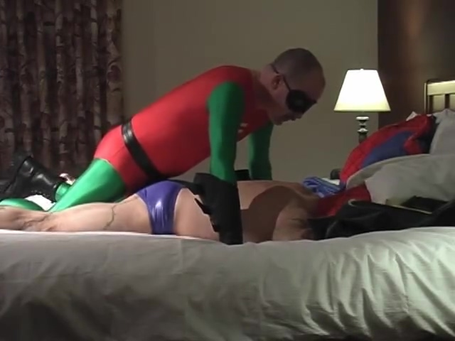Spiderman Vs Robin - Pig Daddy Productions all Nude black female bodybuilding