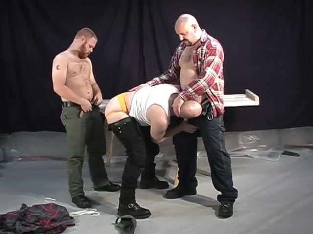Construction guys have fun at the office - Pig Daddy Productions dirty cum swallow photos 1