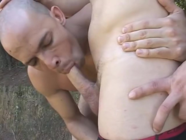 Hunks Bang In The forest - Bareback Men Verybabe milf softcore porno