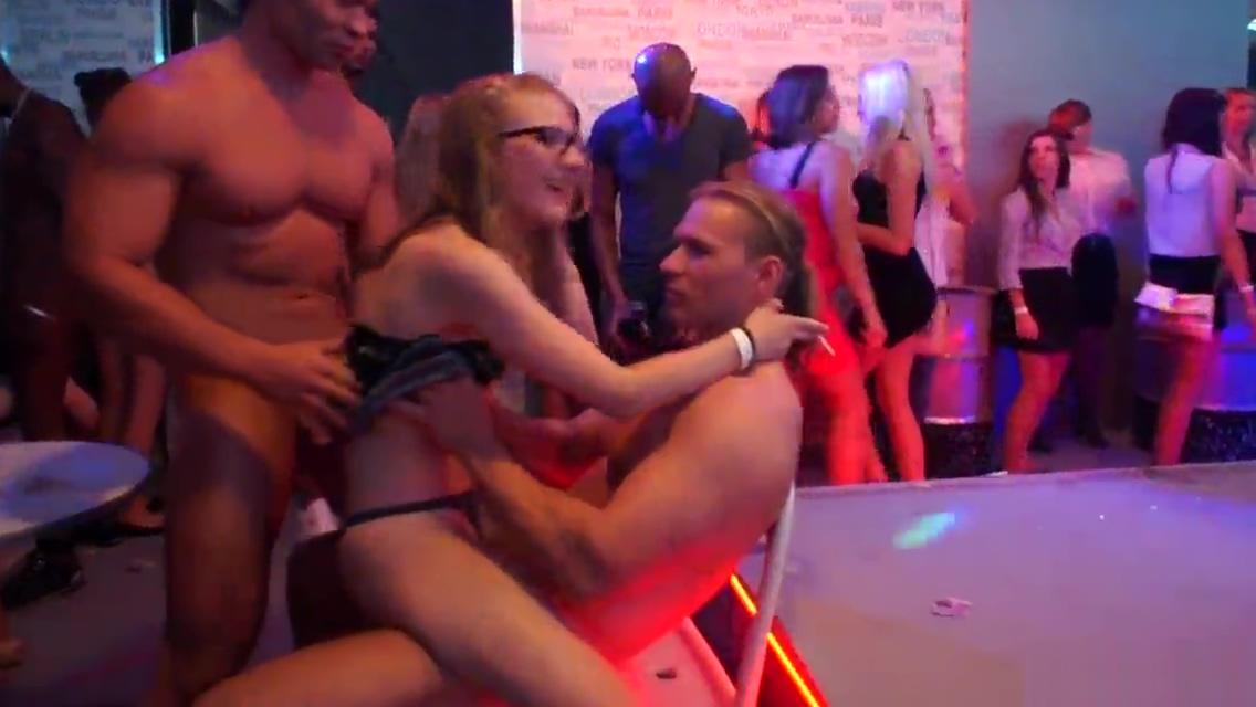 Hot amateur slut Nikola turned 18 4 days before letting a stripper bareback her slutty cunt in PHGC 30 Denise milani showing her vagina