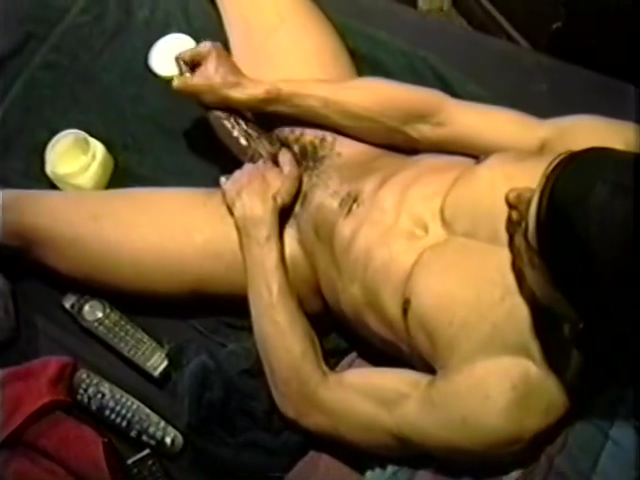 Yummy Jerking Off Sesh - Encore Video playing with my big dick