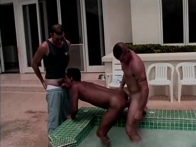 Pool Side Prok Swords - Macho Man Video Big cocks and wet pussy