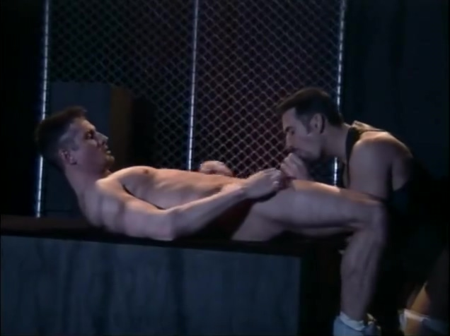 Leather and fences - HIS Video White tranny with the biggest dick