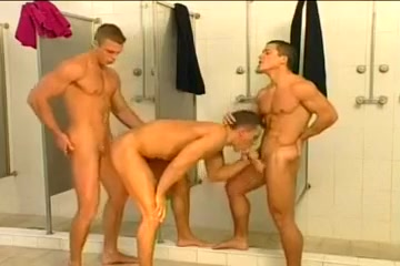 3some in the shower Watching black man fuck my wife