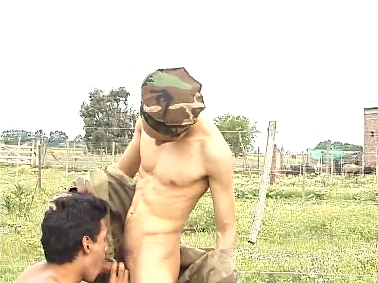 Soldiers take it outside - Latin-Hot Keiran Lee Fucking Jaylene Rio