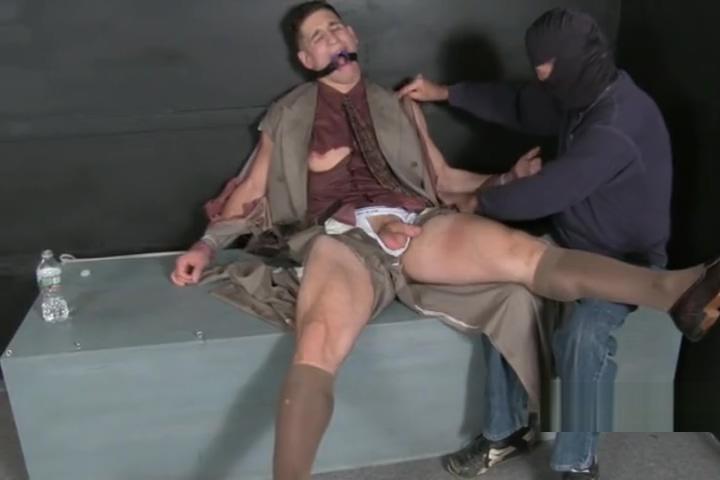 HANDSOME BROKER TIED 2 Older man fucking