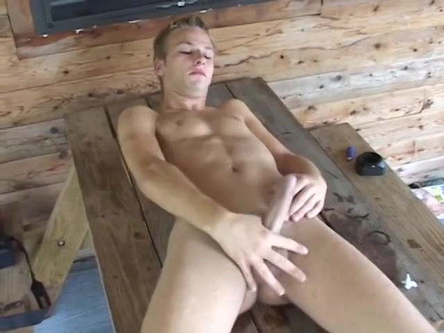 Handsome Gunnar masturbating in outdoor Naked craig parker nude