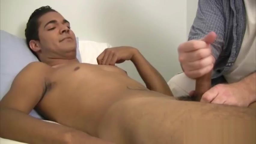 Cute dude gets his nice penis jerked part2 Old men and women haveing sex