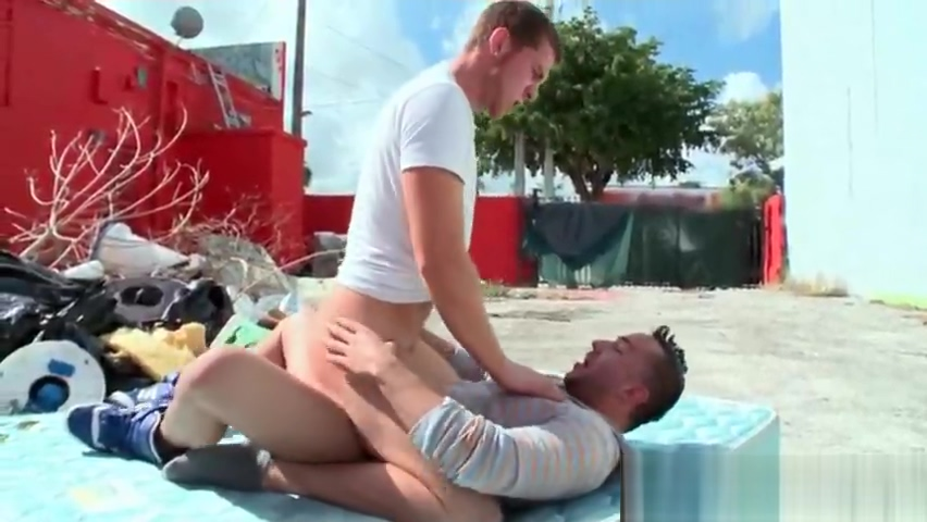 Brunette gay butt fucked outdoors Big dildo in her pussy