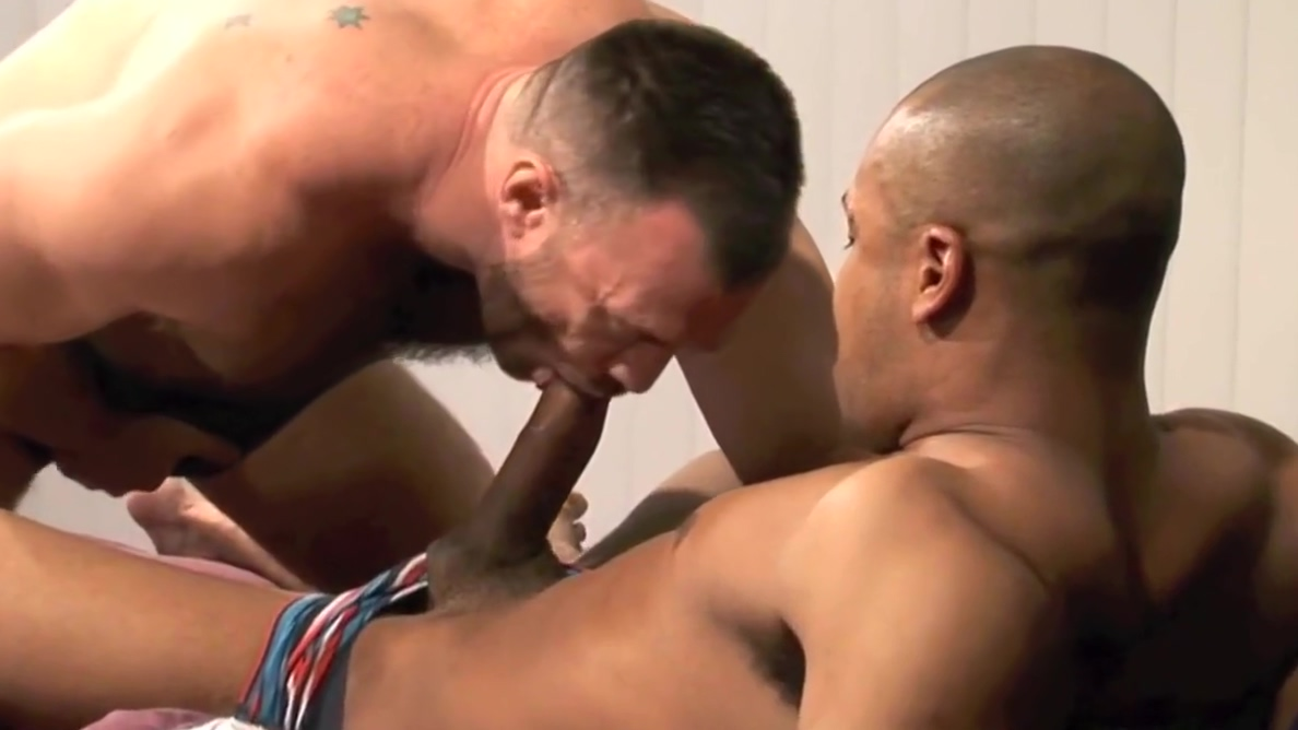 BBC vs. muscle bear daddy big tits granny black