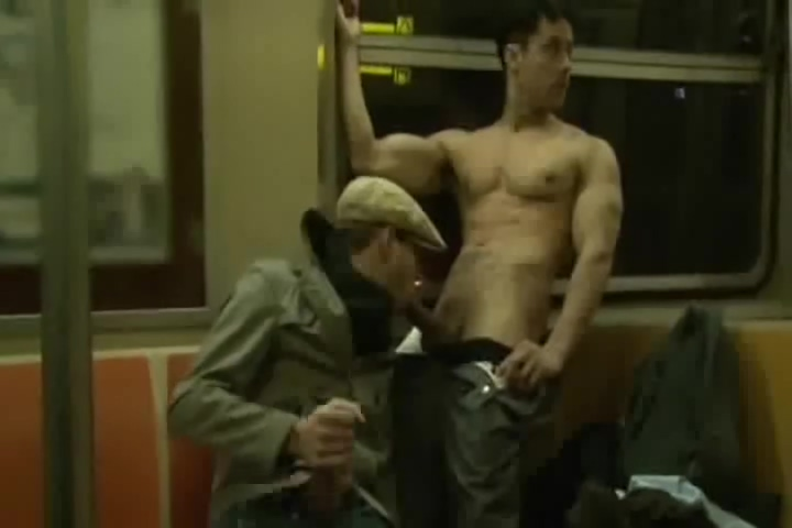Monstercock on the Subway Xxx pussy creampie surprise blog