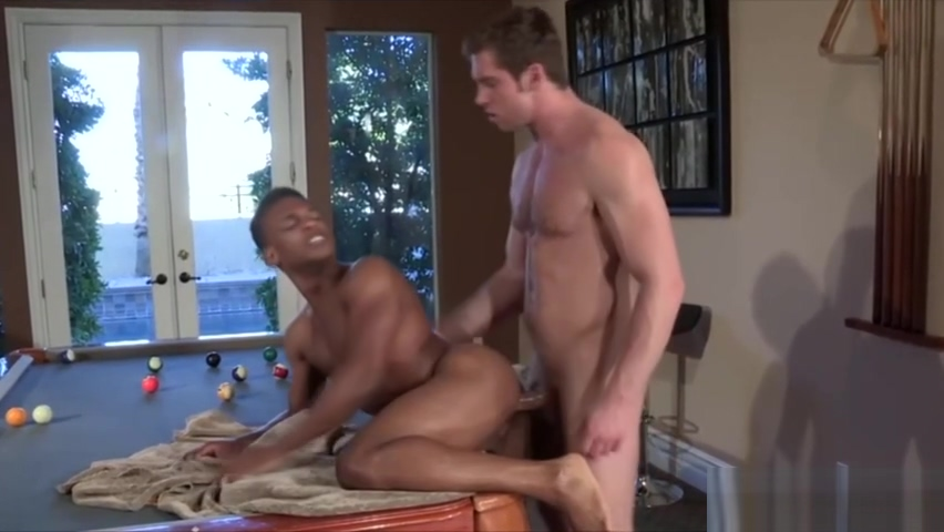 Horny white dude enjoys fucking a black man starting a dating service business