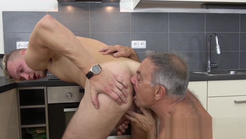 Grandpa gives him a blowjob and rimjob before swallowing cum my hot ass neighbor comic porn