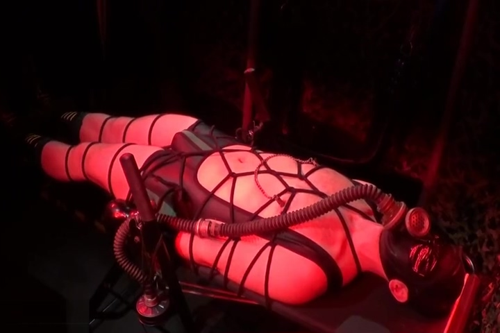 Rope bondage, Inversion and Electro (S11) Big boobs handjob gif