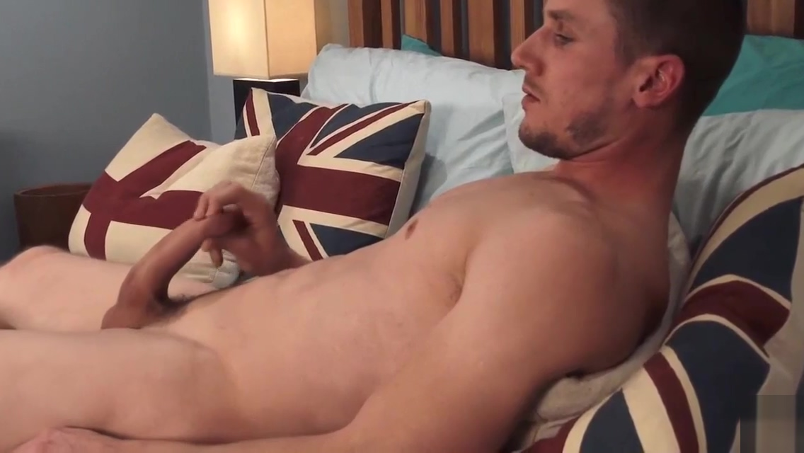 Hot guy shows gorgeous cock best anal porn scene