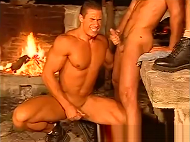 Fit guys fucking by the fire Men love men gifs dick