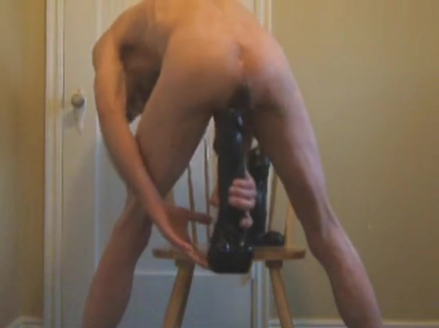 Double Ass Fuck Extreme Dildos Massage Cockold