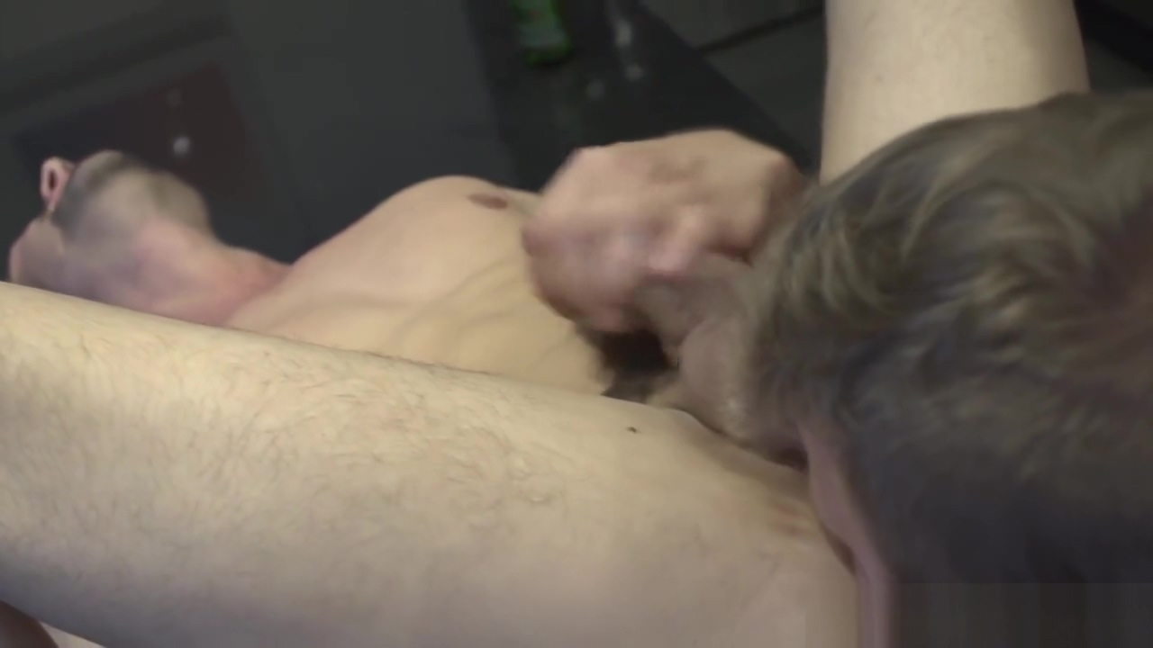 Straight muscle jock pounding roommates ass amateur couple making love