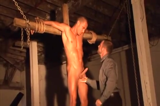 Danny Fox Crucifixation Garls sex anus booty hairy