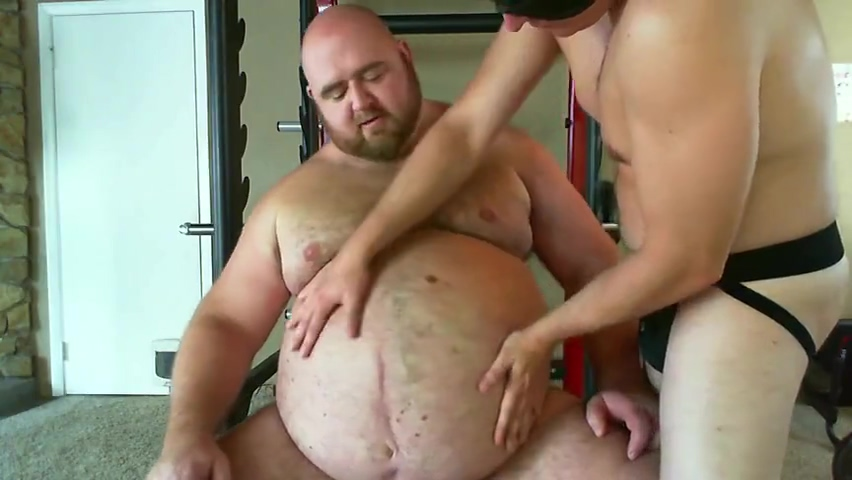 gainerbull 410lbs Gut Worship Cfnm sofa