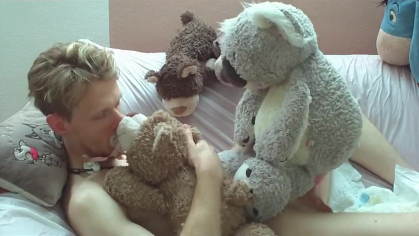 plush koala combo unbirth hentai