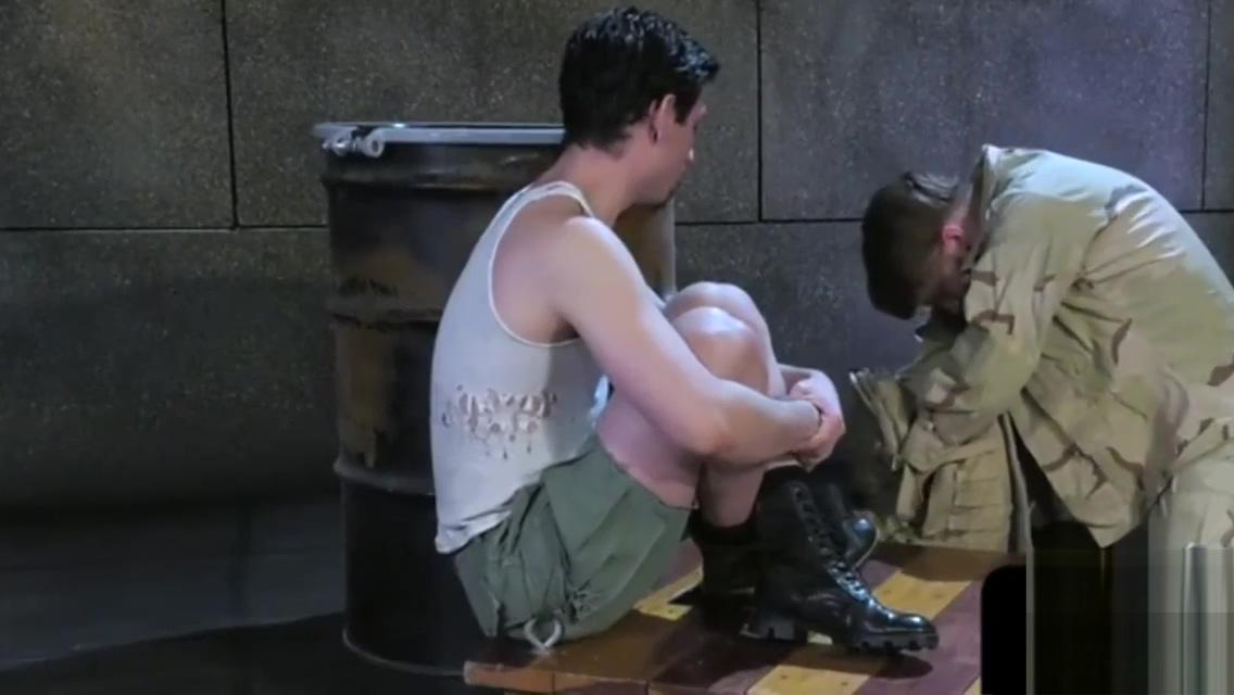 Army stud pumping asshole full of fist punish that bitch krissy lynn