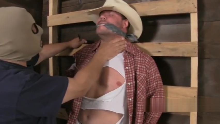 Burly bearded cowboy bound gagged and stripped. free vedioes of naked news reporters