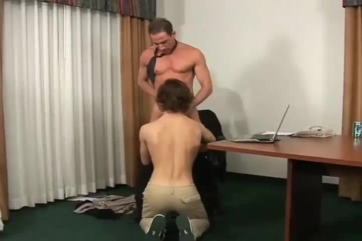 Excellent adult video gay Boss check exclusive version gay man licking cock