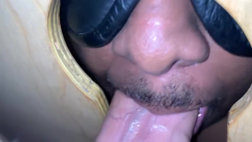 GLORY HOLE ADVENTURES: Cum on my face please Webcam to webcam sex