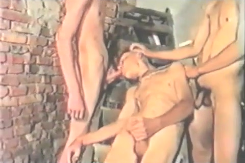 Vintage Boy Fun Gay boys swapping cum