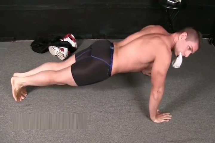 HUSG Zack 1 l reluctant athlete workout with his dick out shemale big cock movies