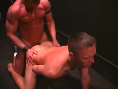 Three muscled studs have a happy hour how to develop big boobs