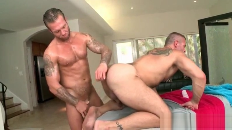 Tattooed hot stud fucking his gay masseurs lusty butt Jasmine jae videos