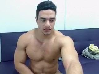 Muscular guy masturbating licks his fingers full of cum Casual encounters florida