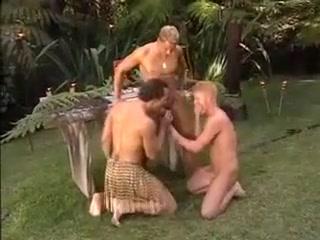 Wild threesome scene 2 Japanese milfs handjob