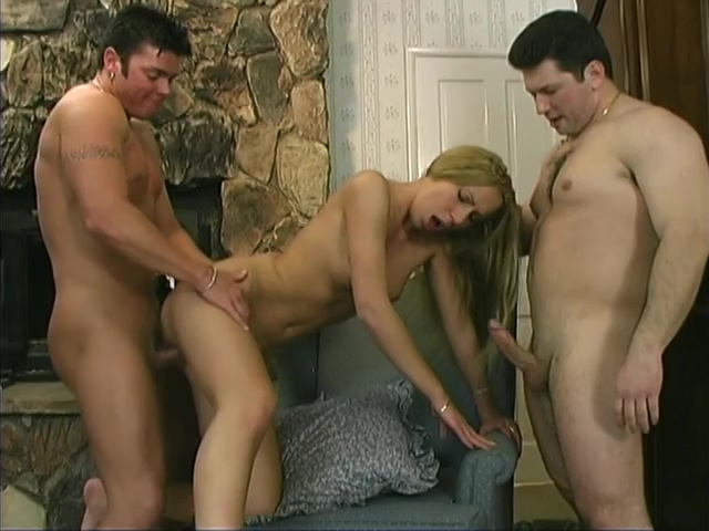 Superb blonde MILF getting DP Porn slowly off bra big tits perfect