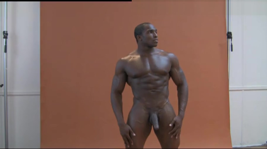PGM Tyrese Henderson l black hunk posing for photoshoot with a boner Hollywood actress nude in films