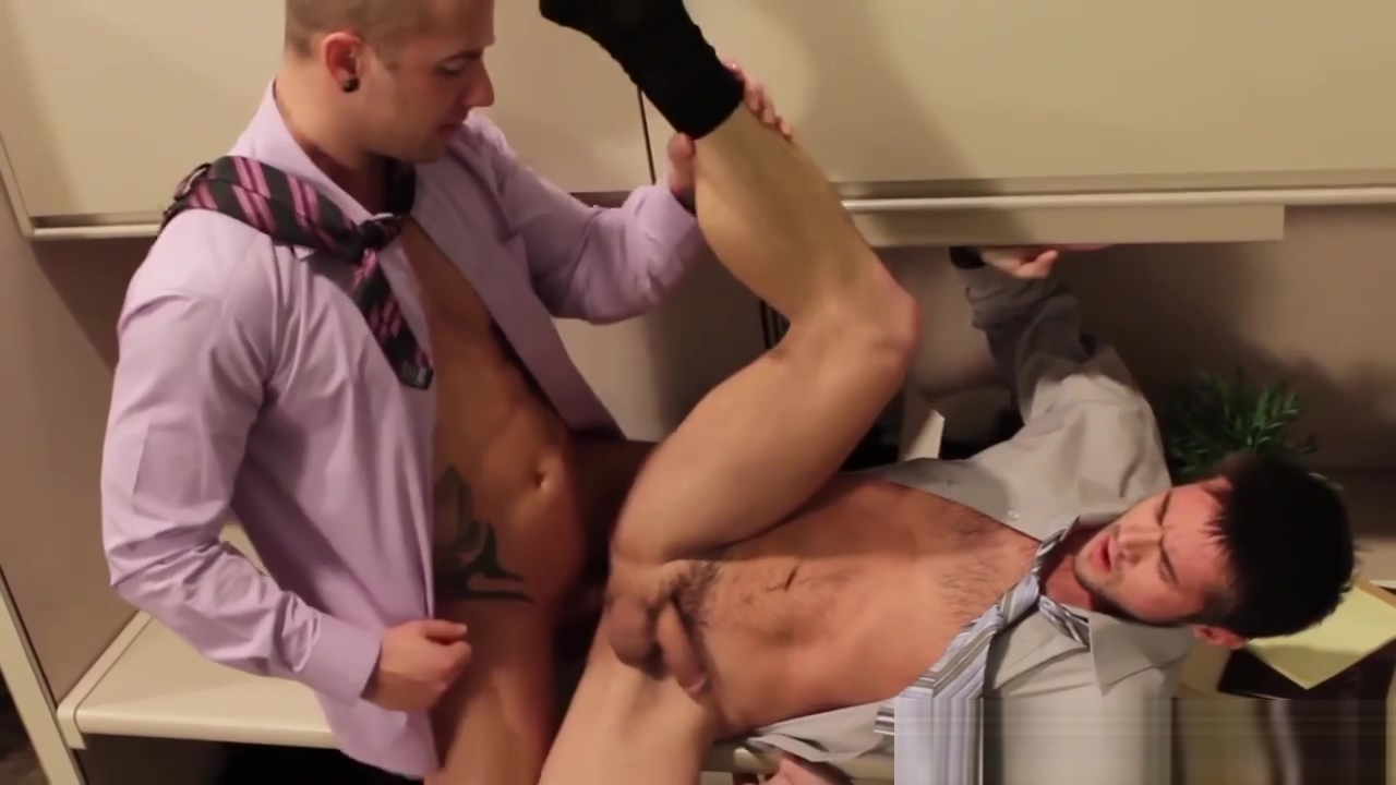 Mike De Marko spreads ass for office guy sex hard anal movies