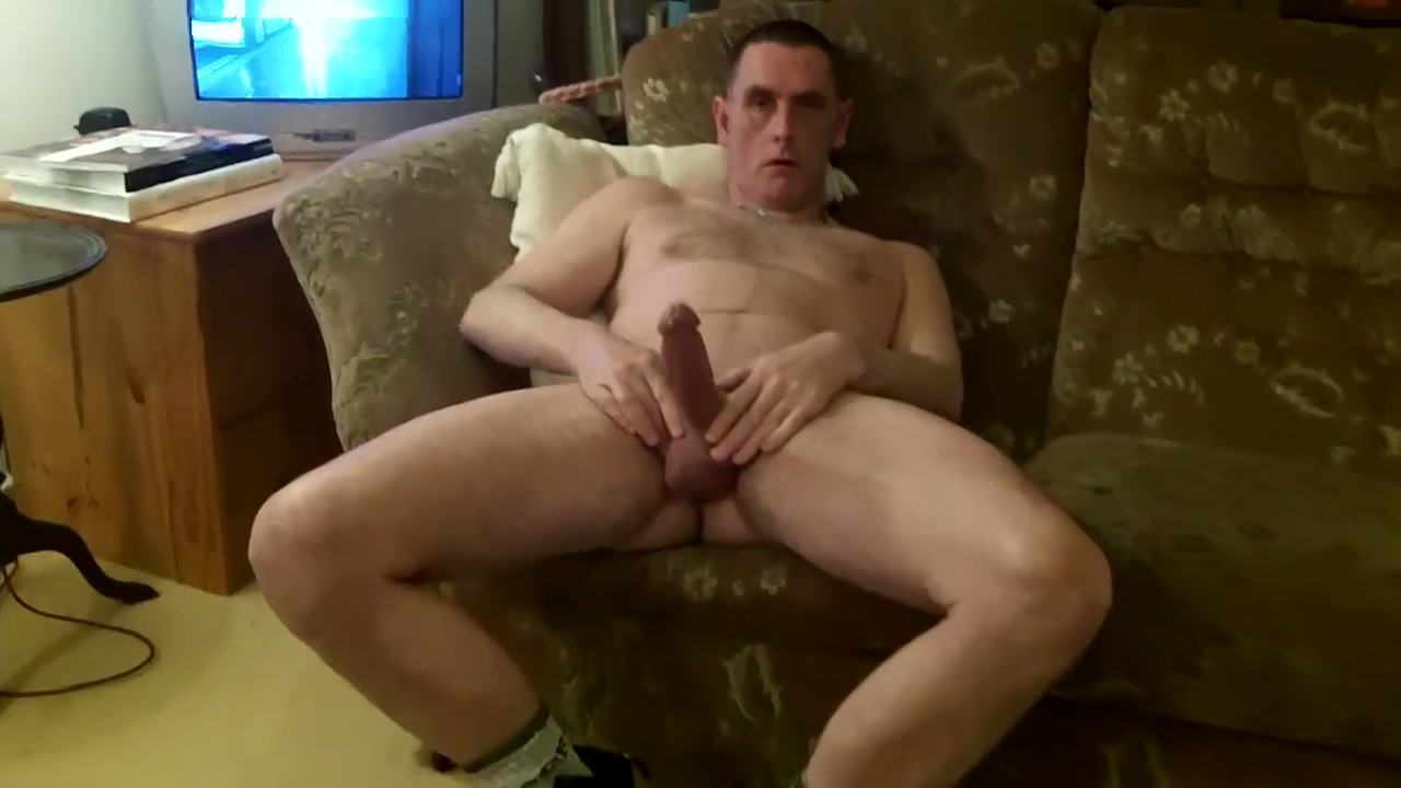 beefy veiny cock puts on a show Black man butt fuck my wife