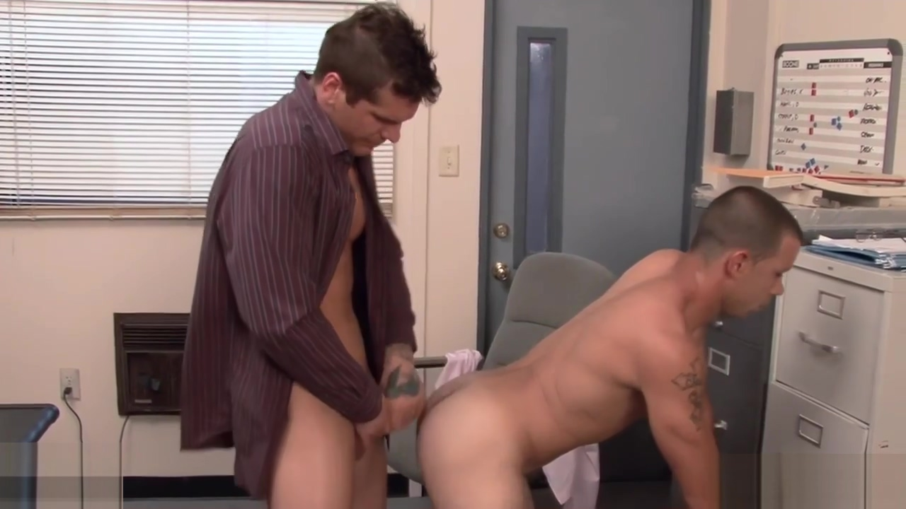 Office gays fucking asses on the desk ways to make a female squirt