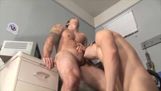 Hot Fuck at the Security Office Dating russian gay guys