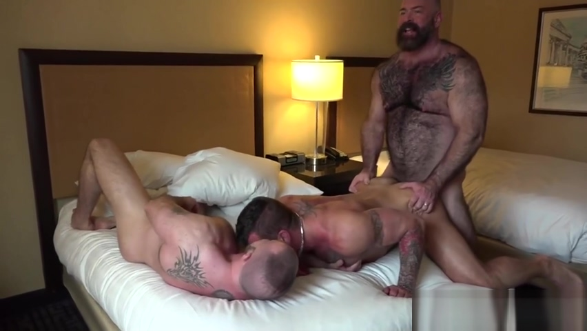 Muscle Bear Porn two free videos of hot naked milfs