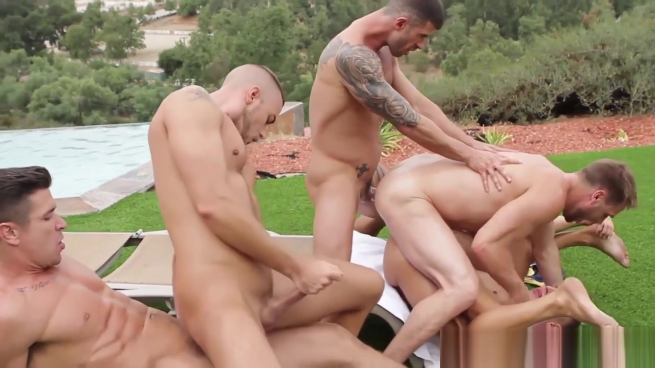 Crazy outdoor group sex with Hans Berlin Cougar facial pics