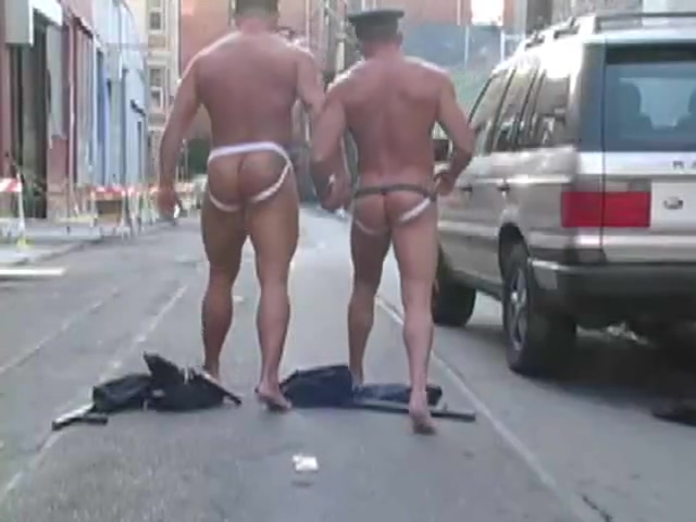 Sex on Public Horny sexy cops Gymnast bound gangbang