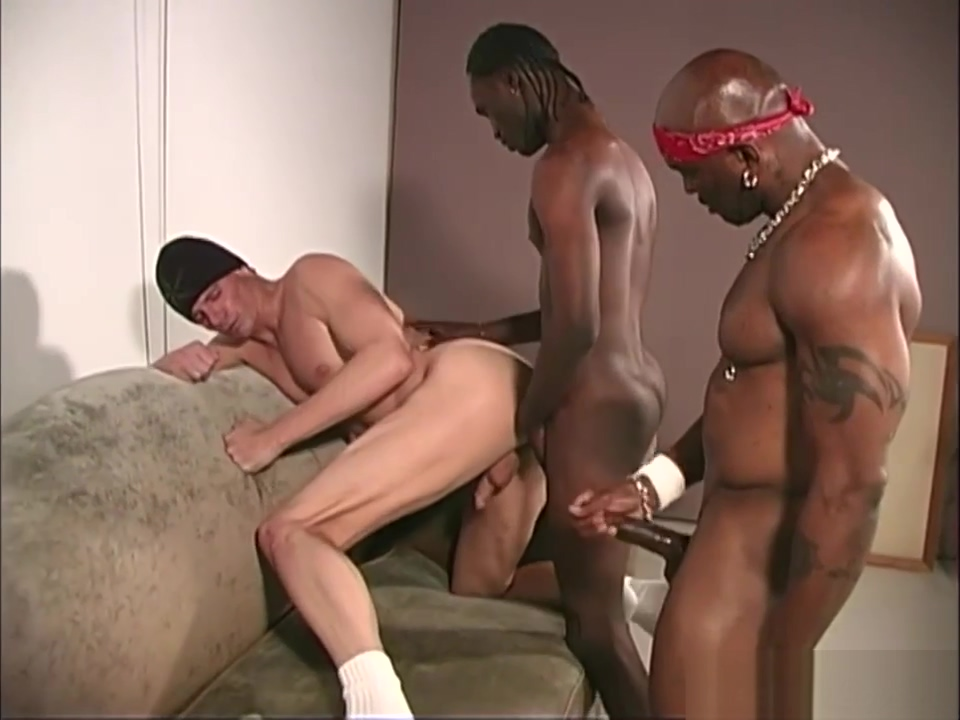 White thug gets assfucked by black men Eden videos and porn movies tube