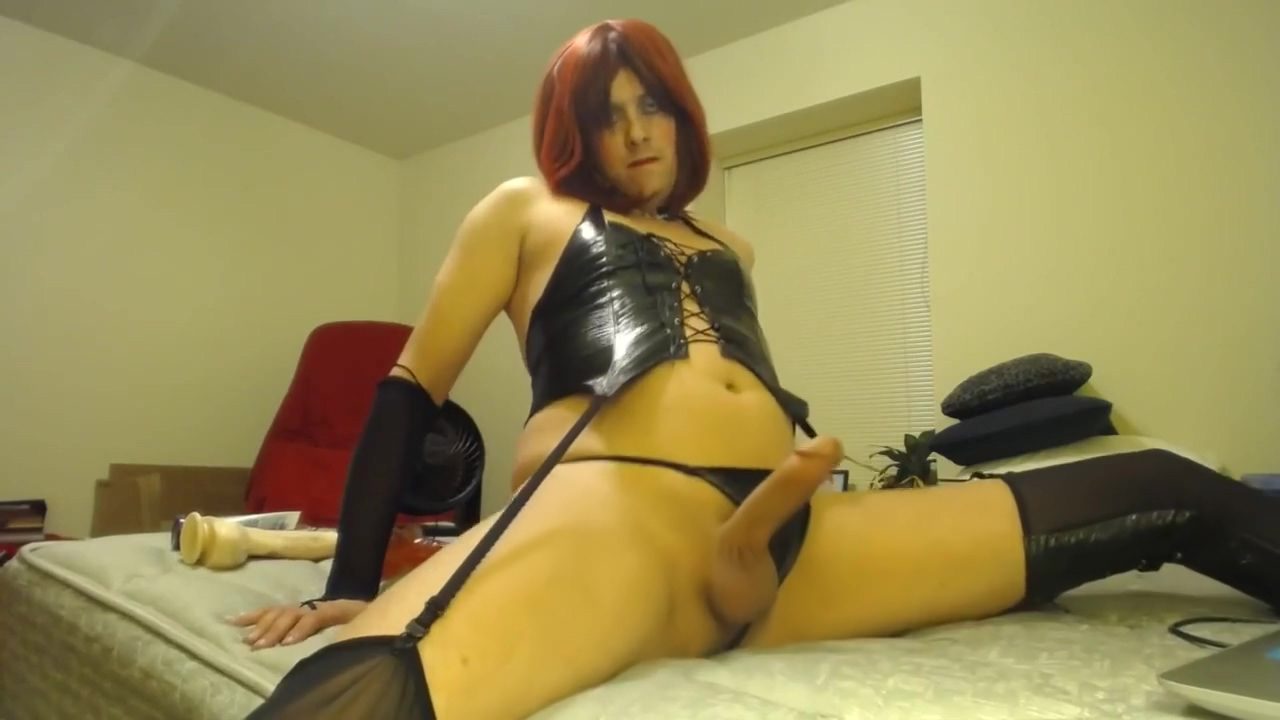 CD Slut Ass to Mouth with Dildos and Cum Licking Your diaper fetish