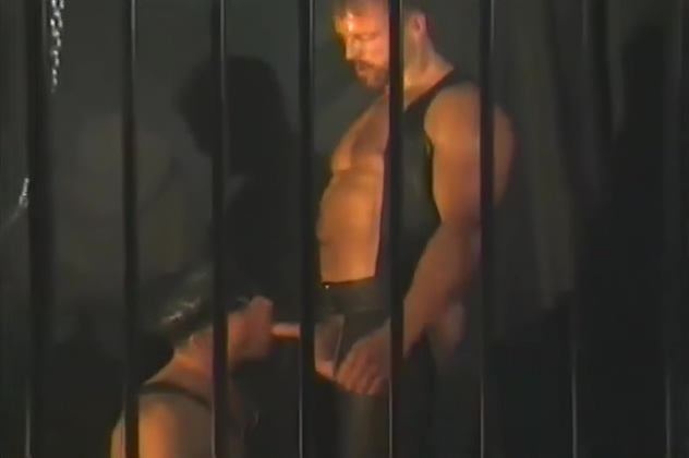 Gay leather sex in jail Shaved pussy close up hd